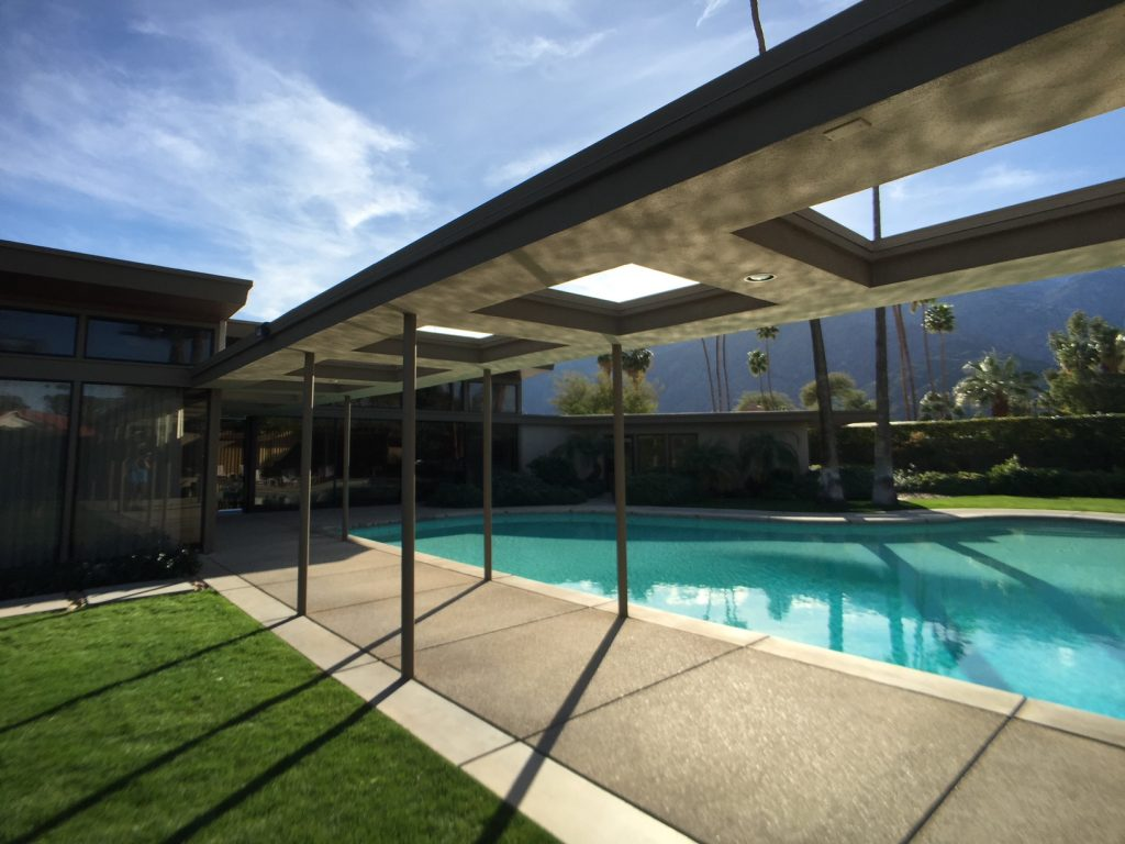 frank sinatra, twin palms, palm springs, architecture, modernism