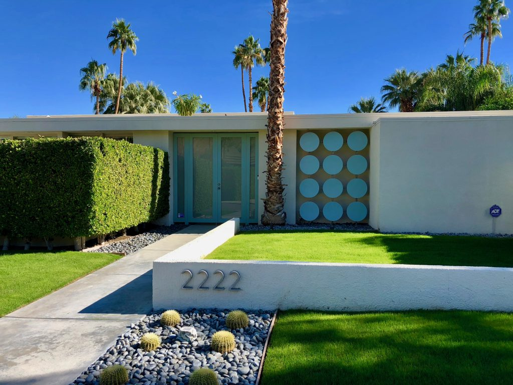 1100 Pink door fav that pink door palm springs location where, tour, modernism, architecture
