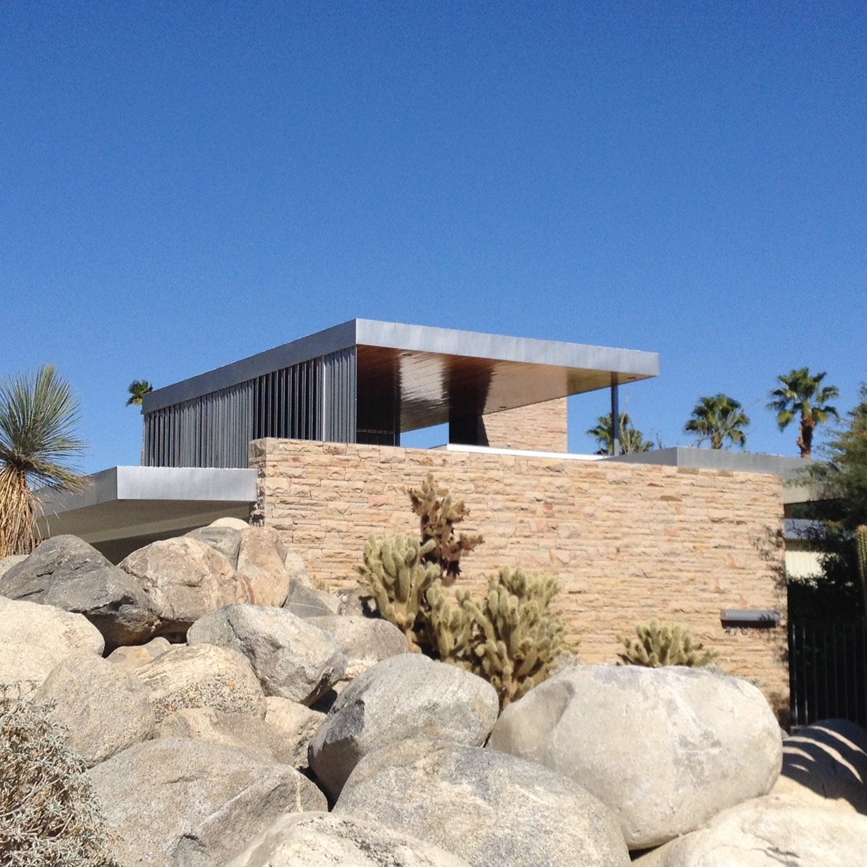 Kauffmann House - Palm Spring Modern Architecture